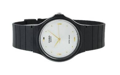 Casio Men Classic Rubber Strap Watch MQ-76-7A1LDF