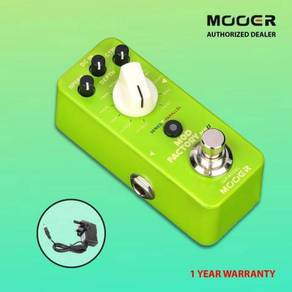 Mod Factory MKII Multi Modulation Pedal MOOER NEW
