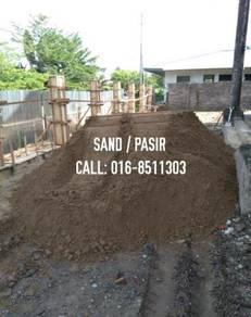 Garden black topsoil pasir tanah batu stone sand