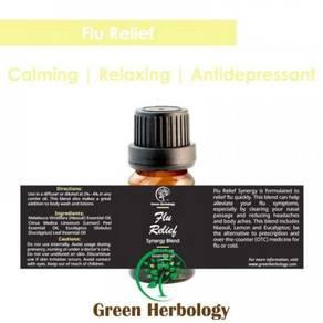 Flu Relief Synergy Blend Essential Oil 100ml