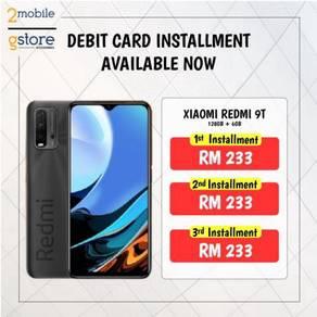 Debit Installment 3 Months Xiaomi Redmi 9T 128GB