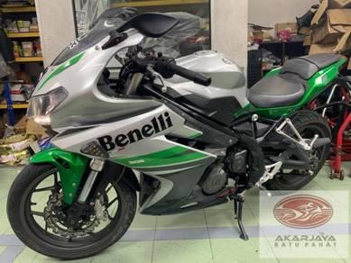Benelli tnt 302 302R VDJ5053 8593KM