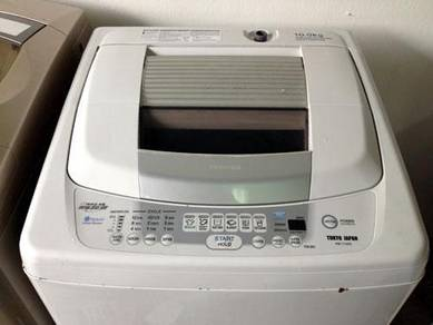Toshiba Top Mesin Basuh 10kg Washing Load Machine