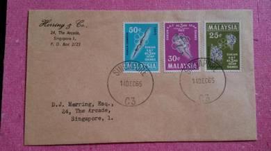 Antik Old FDC Seap Games 1965 No 1137 RARE