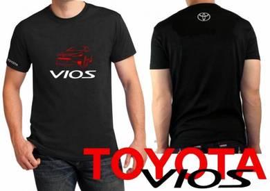 Tshirt Baju TOYOTA VIOS T4 TSV Siap Pos Laju