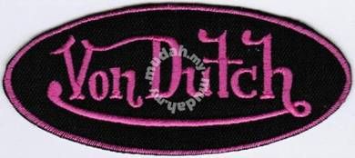 Von Dutch #PTBMotorcycle Racing Badge Patch