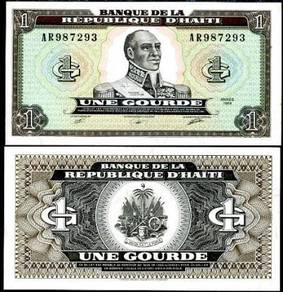 Haiti 1 gourde 1989 p 253 unc