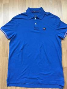 ABERCROMBIE & FITCH musclefit polo sz L Brand NEW