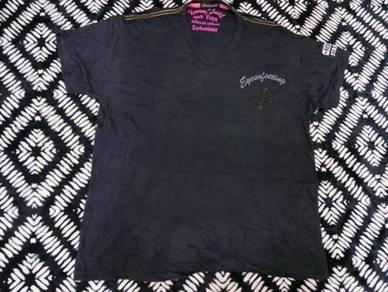 Strange heaven t shirt skull design size 4L