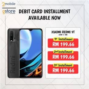 Debit Card Installment 3 Months Xiaomi Redmi 9T