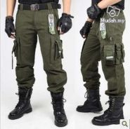 Tactical hiking trousers camouflage pants
