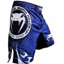 Venum UFC MMA blue V2 short Pant Gym Fitness