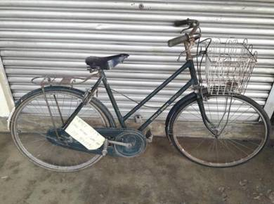 Original basikal Raleigh antik tua 26