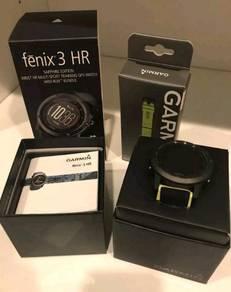 Garmin Fenix 3HR Sapphire Malaysia Fullbox