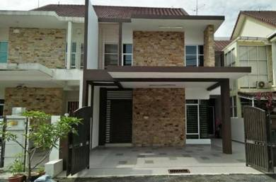 For Sale Double Storey Terrace Link Nilam Ria at Pauh Jaya