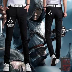 Assassin creed fashion slim fit long trouser
