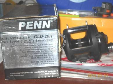 Fishing Reel PENN GLD20 II Graph-Lite 2 Speed