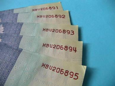 1000 Rupiah Indonesia 2016 EF/AU -replacement note