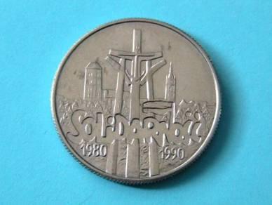 Poland 10,000 Zlotych 1990