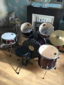 Full drum kit for sale black