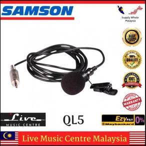 Samson QL5 Cardioid Condenser Lavalier Microphone