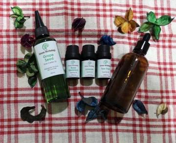 Acne Fighting & Scar Face Oil Serum Set