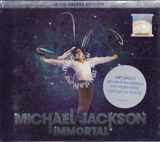 CD MICHAEL JACKSON Immortal 2CD Deluxe Edition