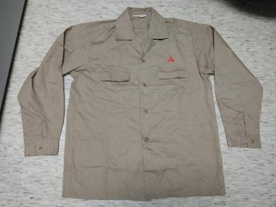 Vintage mitsubishi workers shirt