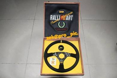 Rare Limited Steering OMP RALLIART TOMMI