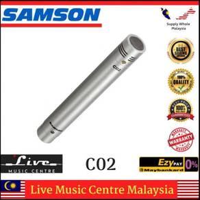 Samson C02 Stereo Cardioid Condenser Microphones