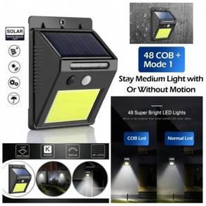 48COB LED SOLAR LAMP WALL LiGHT MOTION SENSOR 🔥