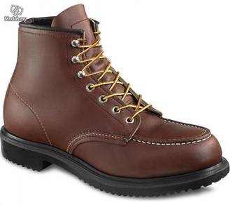 Safety Shoes Red Wing Men 6Inch Brown ST EH 8249