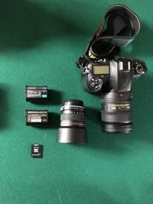 Nikon body and lens