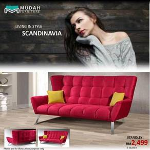 Scaandinavia fabric sofa