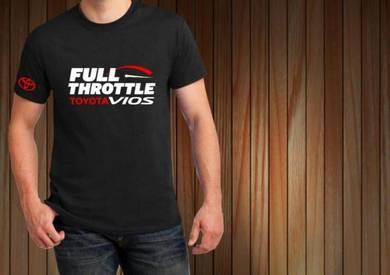 Tshirt Baju TOYOTA VIOS T8 TSV Siap Pos Laju