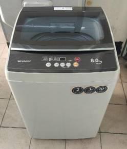 Sharp 8kg washing machine fully automatic.37