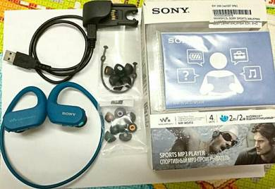 Sony NW-WS413L 4GB waterproof Walkman headphone
