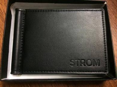 Men's Wallet Real Leather Black