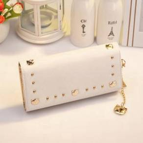Hello kitty white long clutch wallet purse RBHB036