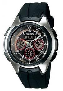 Watch - Casio Active Dial AQ163W-1B2 - ORIGINAL