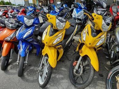 Modenas Kriss Mr2 motor murah