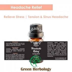 Headache Relief Synergy Blend Essential Oil 100ml