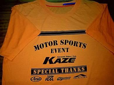 Vintage KAWASAKI MOTOR SPORTS EVEN SzL T-Shirts
