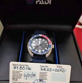 Seiko Padi Prospex Limited Edition With Receipt