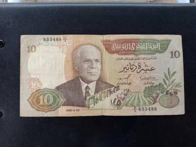 Wang TUNISIA 10 Dollars No 33