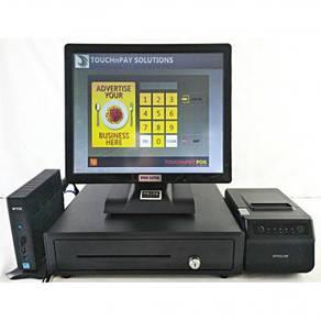 Retail FNB Cashier Machine FullSet Pos System Read