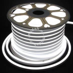 Flexible White Neon LED Strip 5 Meter With Adapter