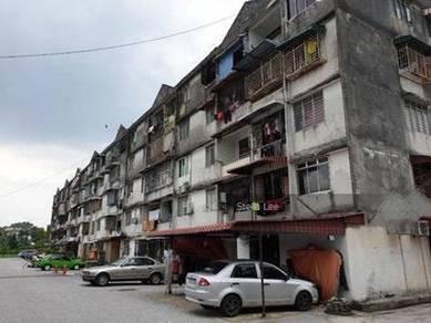 Flat Taman Minang Batu 9 Cheras, tingkat 4