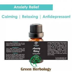 Anxiety Relief Synergy Blend Essential Oil 10ml
