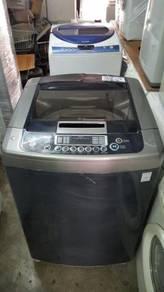 Mesin Machine LG Basuh 16kg Automatic Washing Top
